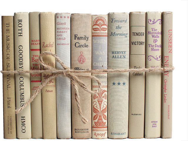 Decorative Books, The Midcentury Neutral ColorPak
