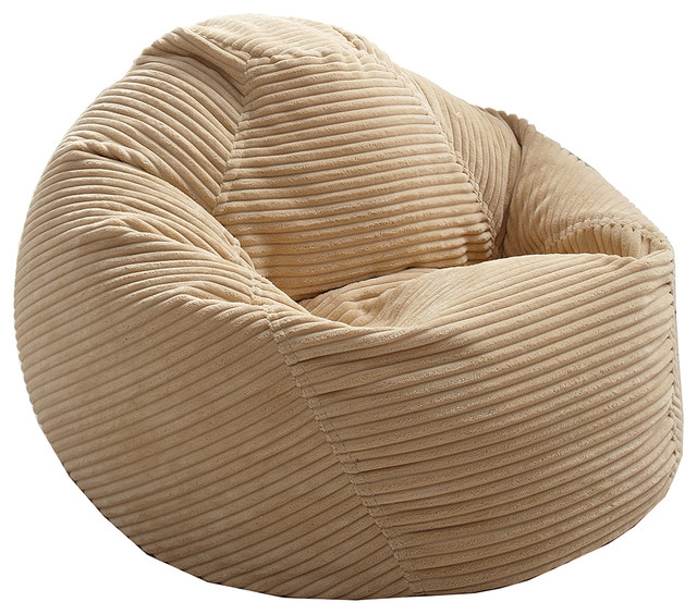 Junior Corduroy Bean Bag Beige