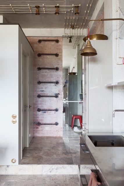 В гостях: Современное искусство и японские мотивы в лофте-трансформере loft