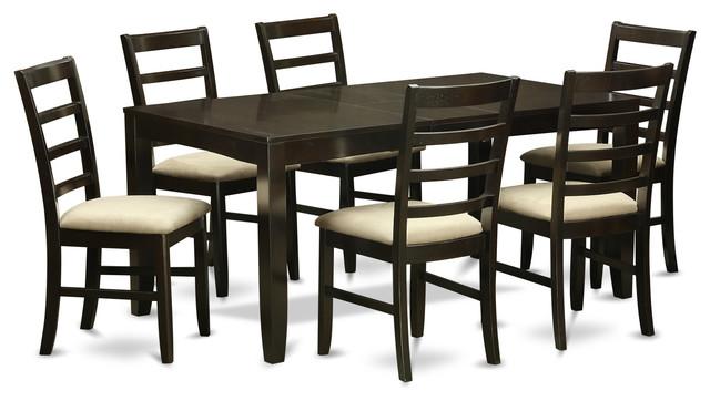 lypfcap kitchen table set  transitional  dining sets
