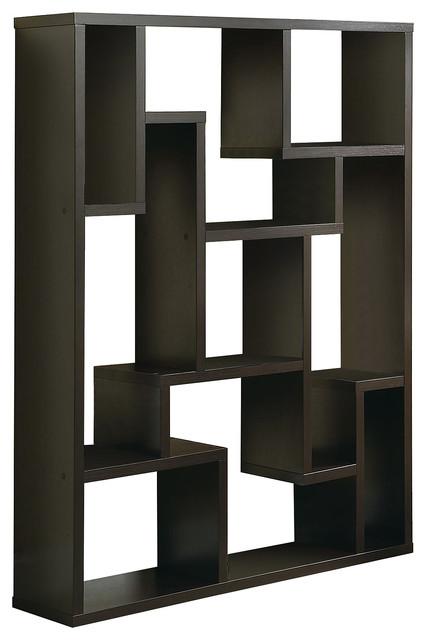 Cappuccino Bookshelf.