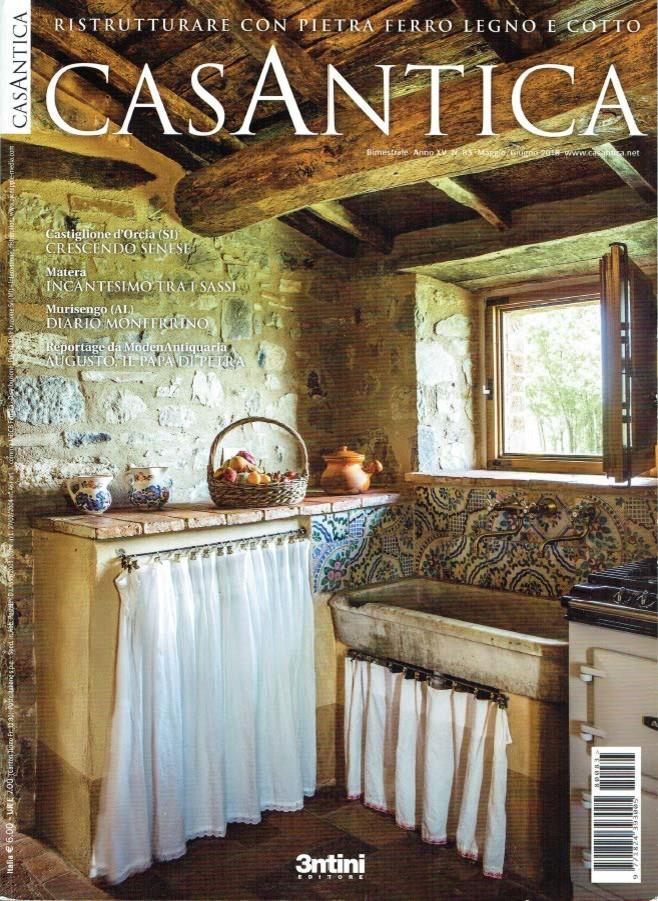 Progetto pubblicato sulla rivista CasAntica n. 83 maggio 2018