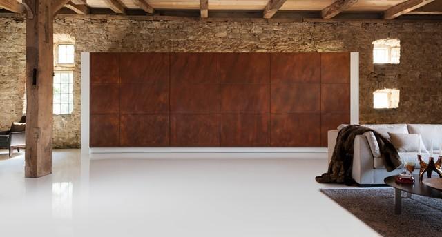 warendorf hidden kitchen industrial other by. Black Bedroom Furniture Sets. Home Design Ideas