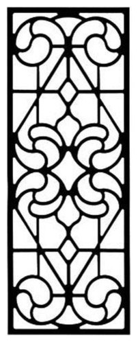 Wrought Iron Wall Decor Style 206