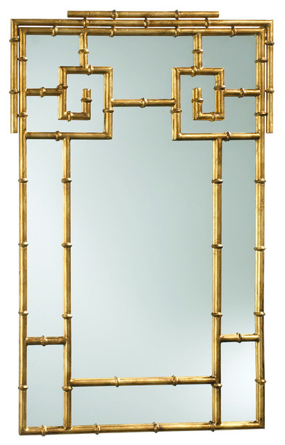 Bamboo Mirror   Eclectic   Wall Mirrors   By Better Living Store