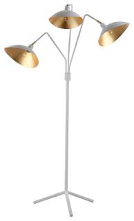 Safavieh Iris Floor Lamp   Midcentury   Floor Lamps   By Safavieh