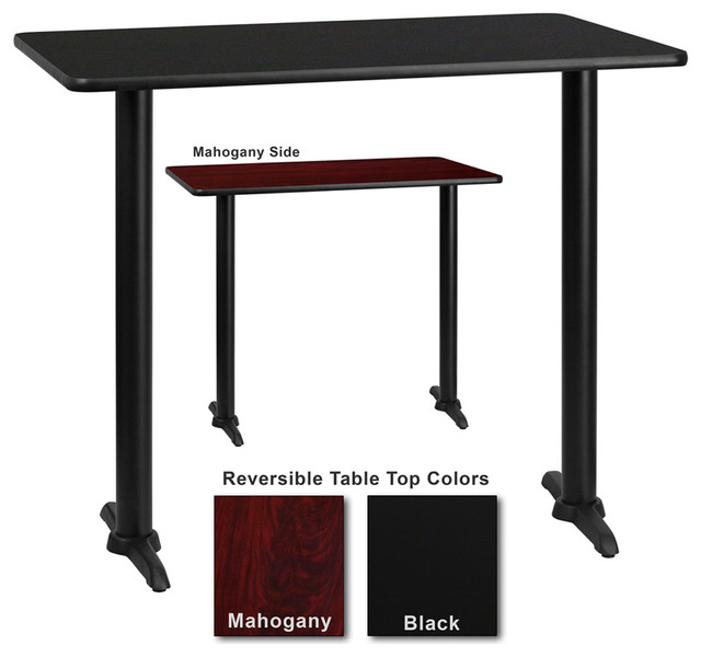 Flash Furniture 24 Inch X 42 Inch Rectangular Dining Table