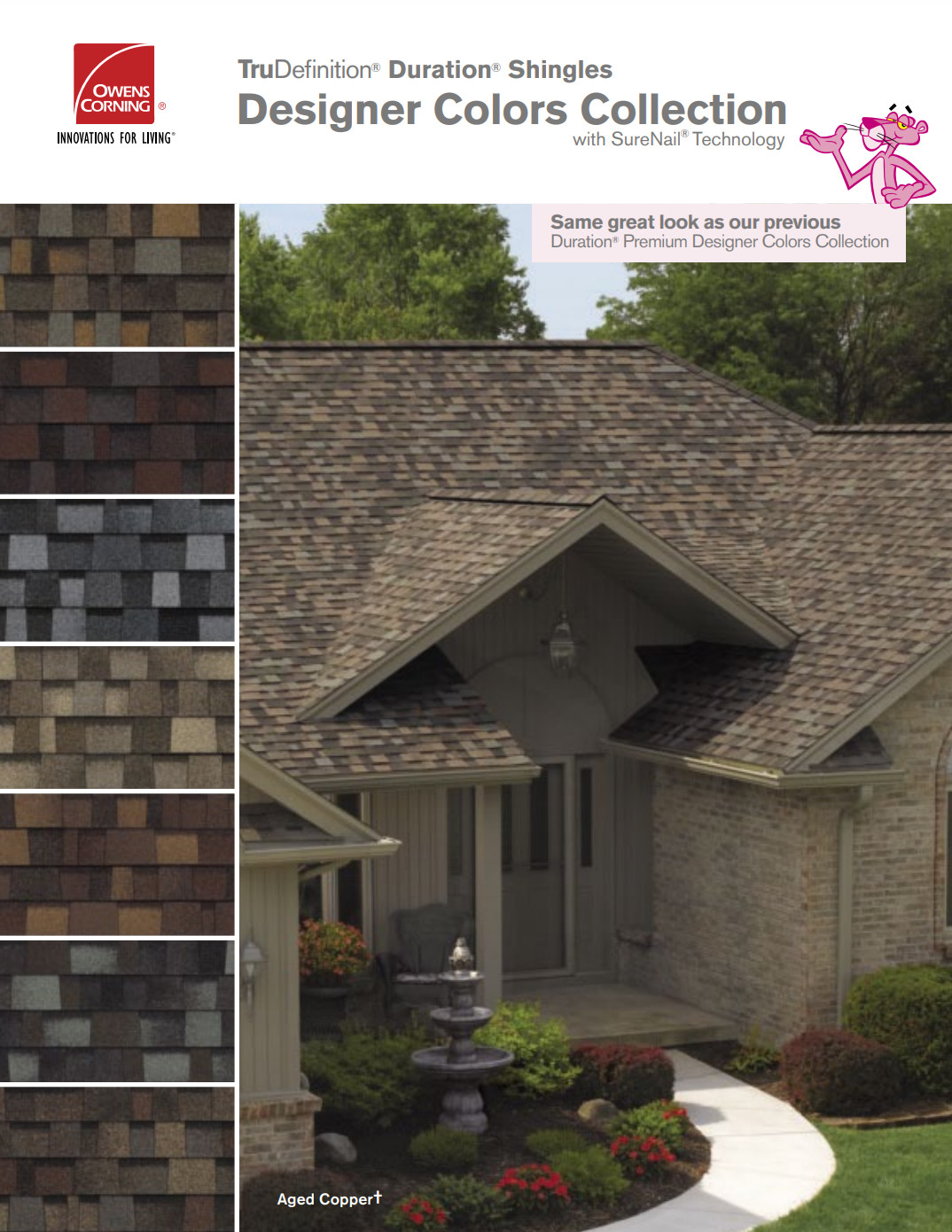 Duration Designer Shingle Brochure