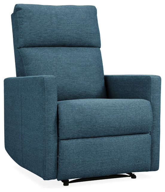Flynn Reclining Chair With Usb Port, Blue.