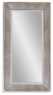 "Beaded Wall Mirror, 12""x48"""