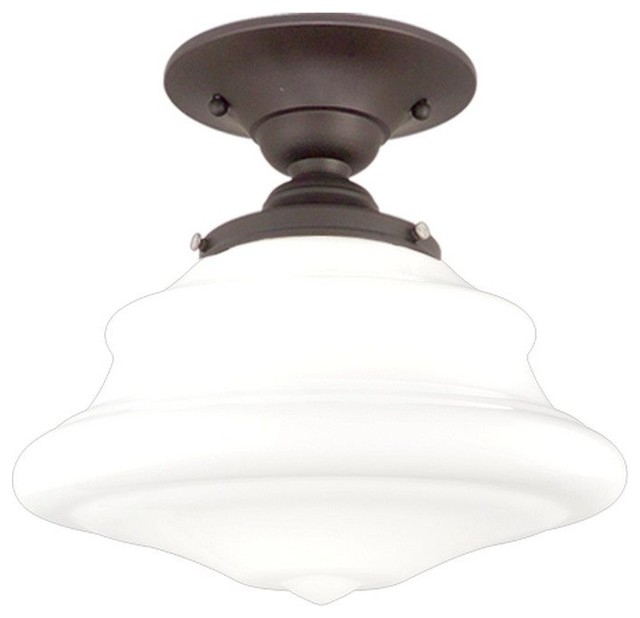 Hudson Valley Lighting Petersburg Transitional Semi Flush Mount Ceiling Light X.
