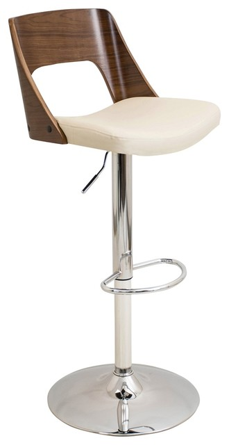 Shop Houzz Lumisource Valencia Height Adjustable Mid