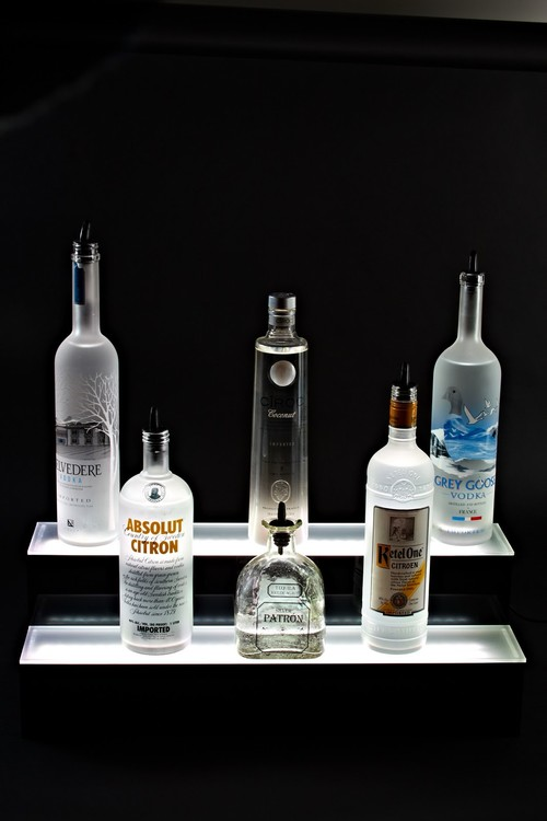 Lighted bar display design visit httpliquorshelves to order one today mozeypictures Images