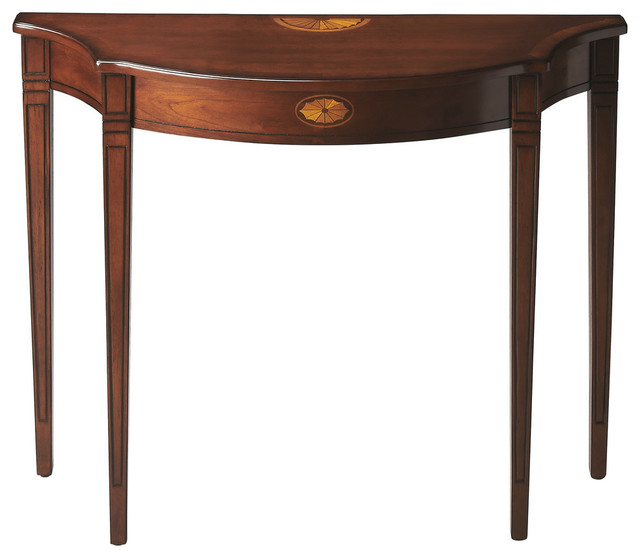 Chester Plantation Console Table, Cherry - Transitional - Console Tables - by Butler Specialty ...