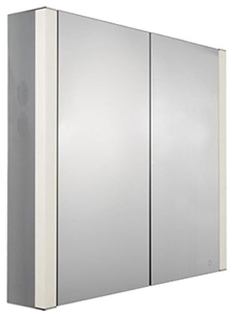 Whitehaus Musichaus Whfel8069-S Double Door Medicine Cabinet.
