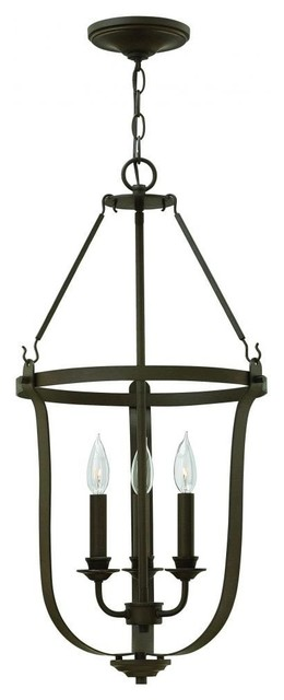 Hinkley Fenmore Single Tier Foyer Light.