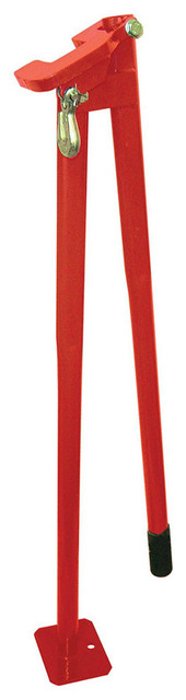 "American Power Pull 14600 Post Puller With Long Handle, Red, 36""."