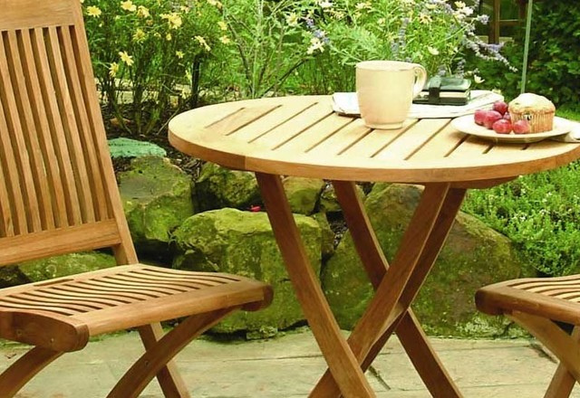 Cambridge Teak Bistro Set Traditional Outdoor Pub And Bistro Sets Part 68