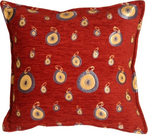 Pillow Decor Ltd. - Pillow Decor - Blue Target 17 x 17 Throw Pillow & Reviews Houzz