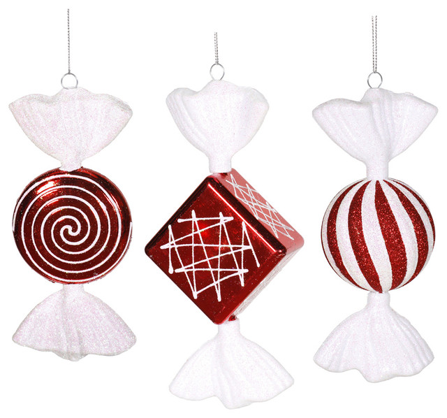 christmas decorations christmas ornaments 8 peppermint candy assorted - Candy Christmas Ornaments