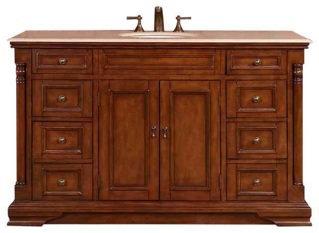 """Austen 58"""" Single-Sink Bathroom Vanity."""