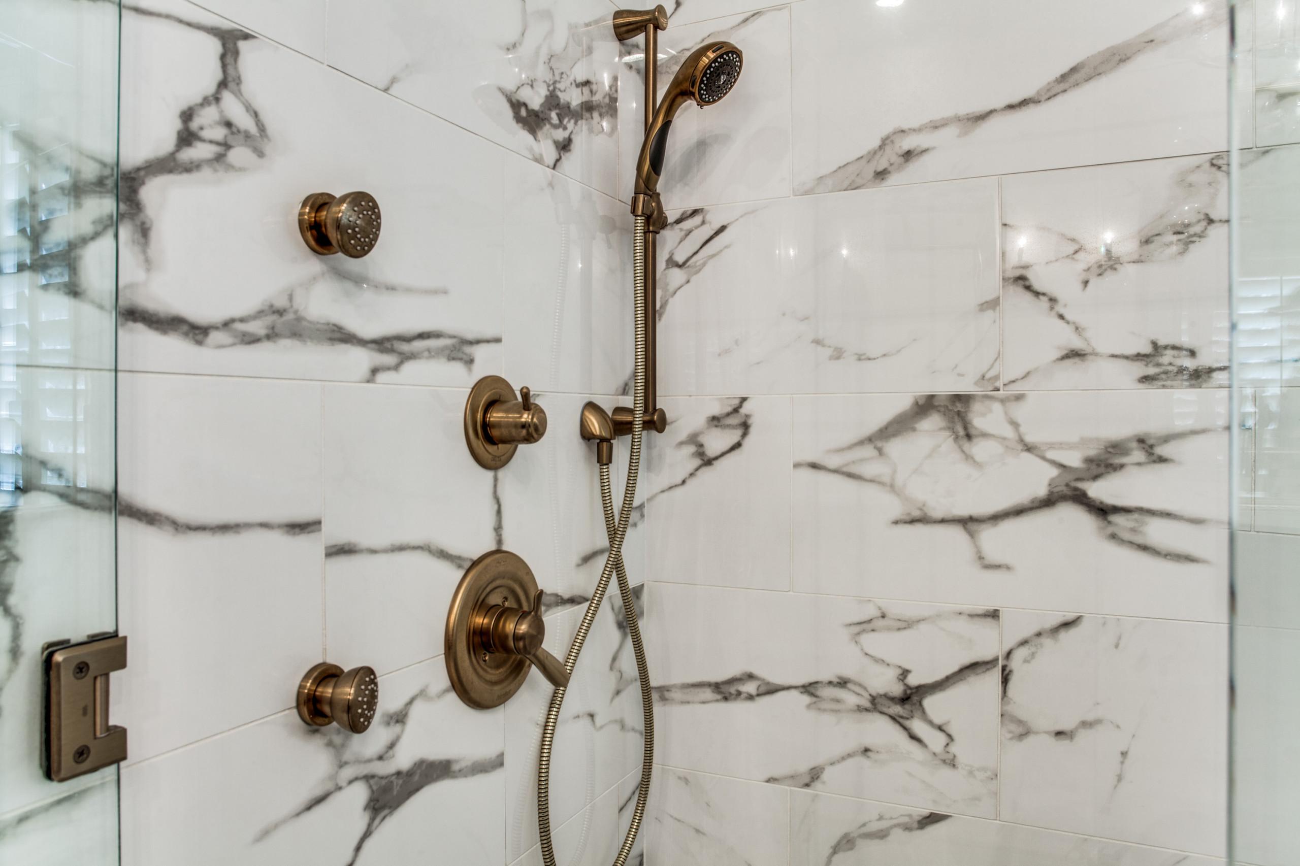 Southlake Gold Master Bath