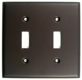 Double Switch Plate Contemporary Switch Plates And