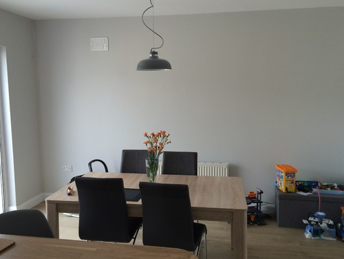 Empty Dining Room Wall