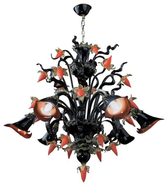 Capriccio Murano Glass Chandelier
