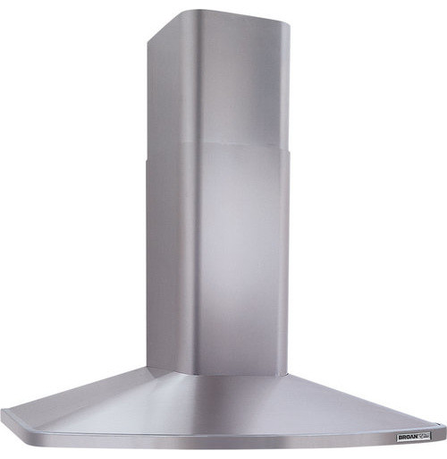 "370 Cfm 30"" Wide Stainless Wall Mounted Hood With Heat Sentry And Single Blower."