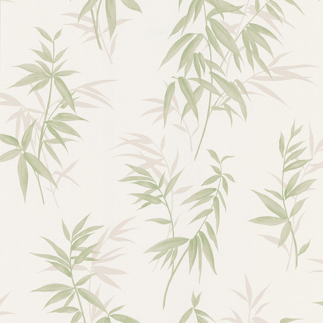 Bamboo Shoot Light Green Leaves Wallpaper Bolt