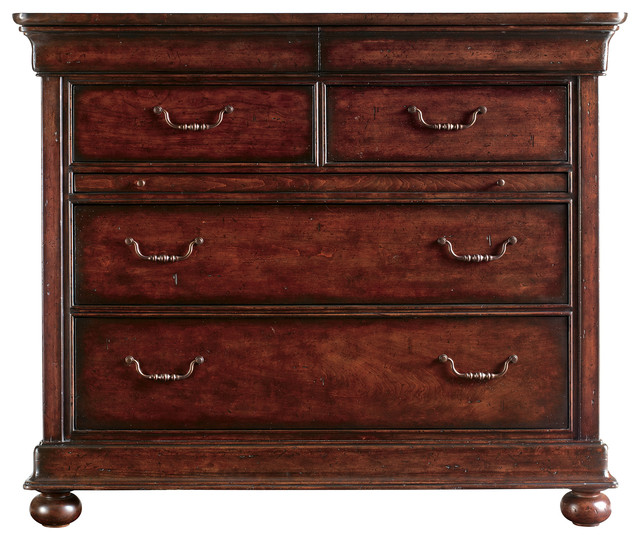 High Quality Louis Philippe Media Chest, Orleans Traditional Media Cabinets