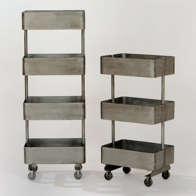 Modern Jayden Metal Shelf Units