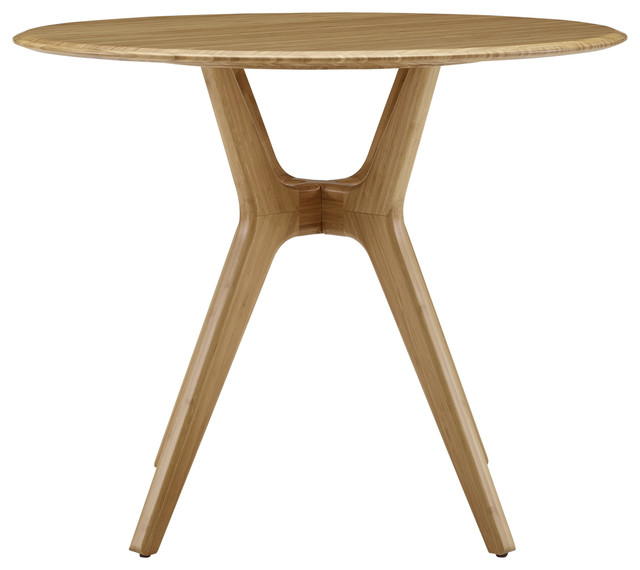 """Sitka 36"""" Round Dining Table, Caramelized"""