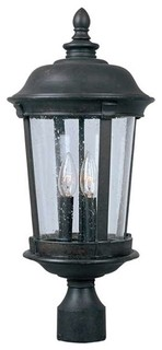 Maxim Dover Cast 3-Light Outdoor Pole/Post Lantern Bronze - 3021CDBZ