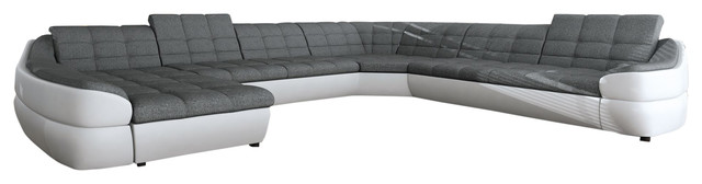 Infinity Xl Sleeper Sectional, Left Corner.