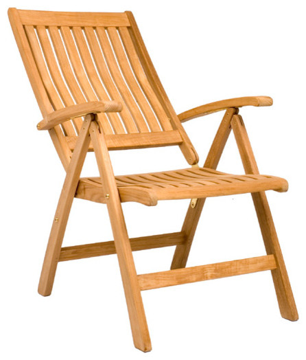 Marley Reclining Folding Chair - Outdoor Teak contemporary-outdoor-folding- chairs  sc 1 st  Houzz & Marley Reclining Folding Chair - Outdoor Teak - Contemporary ... islam-shia.org