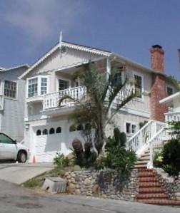 Laguna Beach Victorian beach home