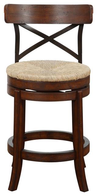 Super Boraam Myrtle 24 Counter Stool In Mahogony Creativecarmelina Interior Chair Design Creativecarmelinacom