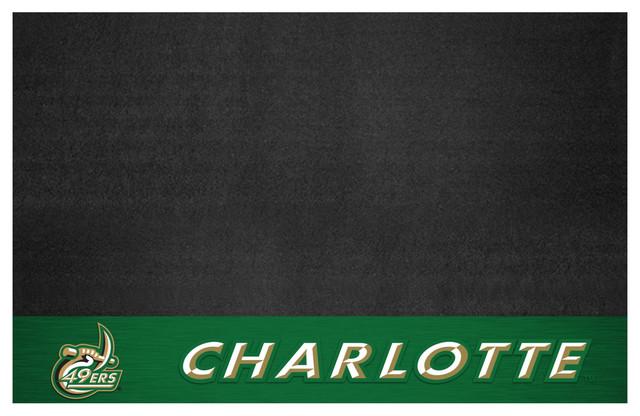 """Unc Charlotte Grill Mat, 26""""x42""""."""