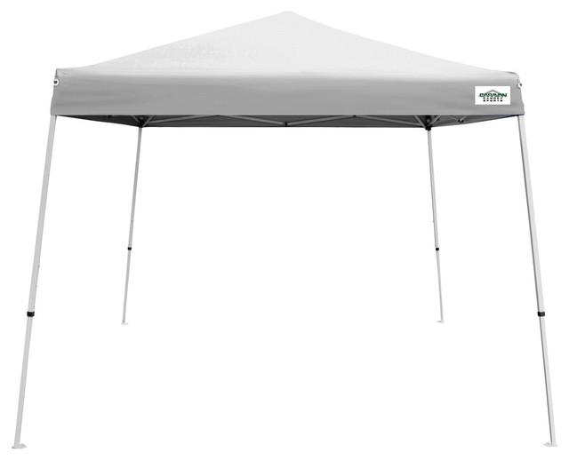 Caravan Canopy Sports 10&x27;x10&x27; White V-Series 2 Canopy.