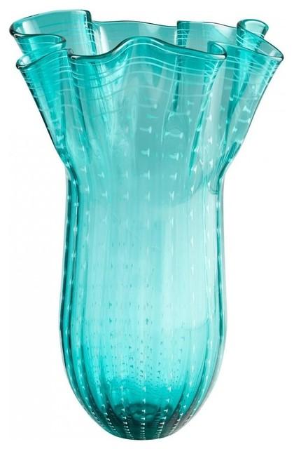 Cyan Design Under The Sea Transitional Flower Vase Large