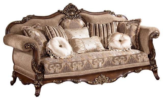 Winfrey Traditional Sofa Victorian Sofas