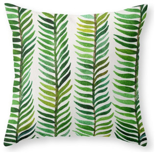 "Seaweed Pillow, Indoor Cover, 18""x18"" With Pillow Insert"