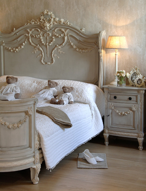 bonaparte french bed shabby chic style bedroom. Black Bedroom Furniture Sets. Home Design Ideas