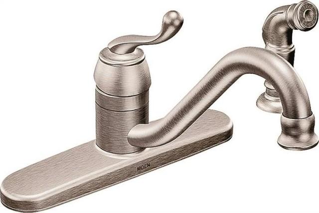 shop houzz moen inc kitchen faucet single chrome milano bel fiore lavatory faucet kitchen faucets new