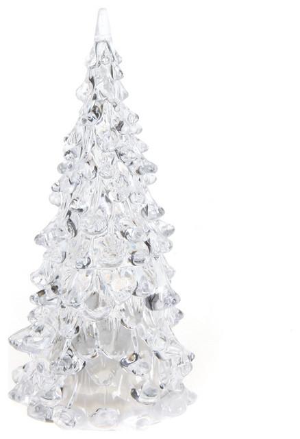 crystal led christmas xmas tree 7 colors changing night light - Led Christmas Tree Lights That Change Colors