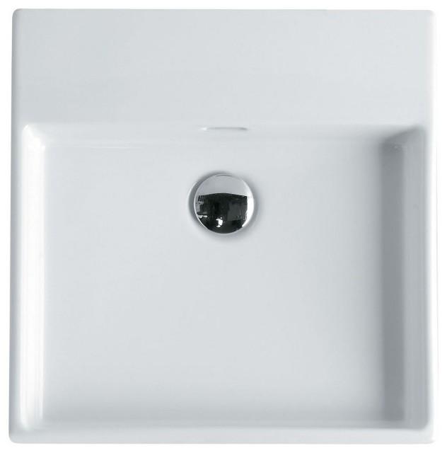 Unlimited 46 Wall Mount Sink 18 3 Contemporary Bathroom Sinks By Modo Bath