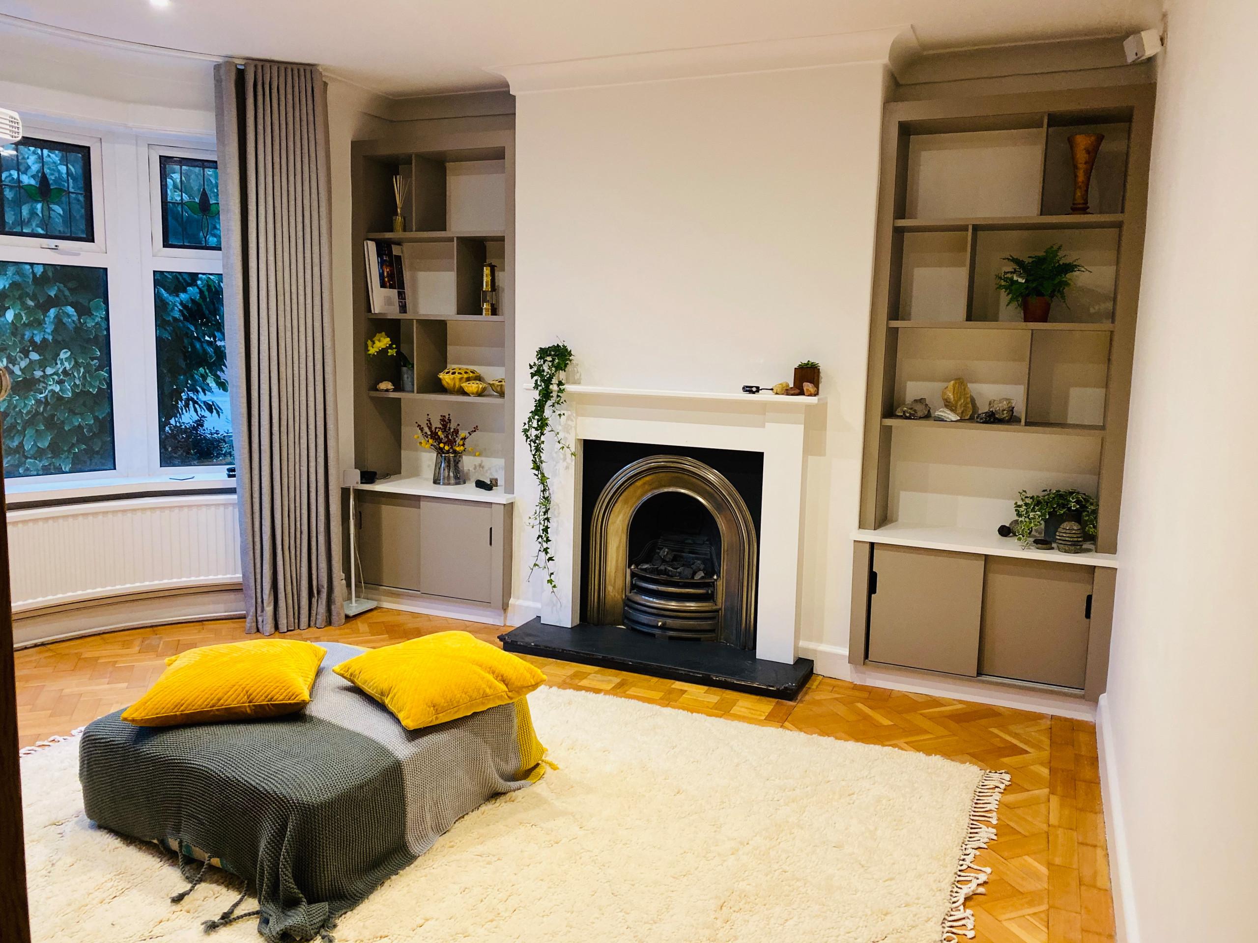 Design ideas for a retro home in Cardiff.