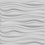 Branches Design 3d Glue On Wall Panel, Box Of 6, 32.18 Sqft.
